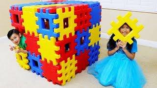 温迪玩积木玩具屋游戏