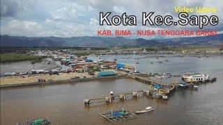 Download Video Video Udara Kota Kec. Sape Kabupaten Bima di Pulau Sumbawa Nusa Tenggara Barat NTB MP3 3GP MP4