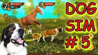 Dog Sim #5. Летсплей Симулятор собаки онлайн. Прохождение. Булат играет в игры