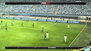 PES 2012 Real Madrid Barcelona pro evolution soccer gameplay HD
