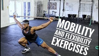 Essential Mobility and Stretching Exercises    Improve your lifts and Avoid Injury