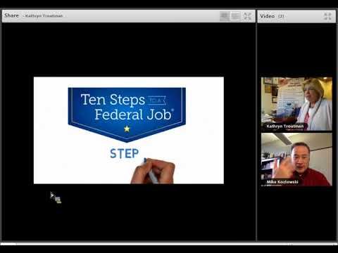 Ten Steps to a Federal Job 2018 Overview