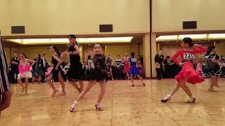 2018 제1회 WCDA  world junior dance championship  초등고학년 3종목 jive 준결승