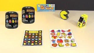Pac-Man Mashems Squishy Toys & Vintage Pac-Man & Ms. Pac-Man Stickers