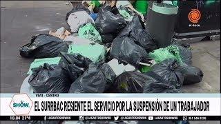 Resienten el servicio de recolección de basura por la suspensión de un trabajador