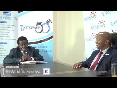 The World Show Visit to Botswana Embassy