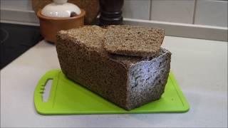 удивительный хлеб из пророщенных зерен на закваске