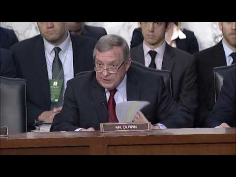 Durbin Grills SCOTUS Nominee Gorsuch On Civil And Labor Rights Record