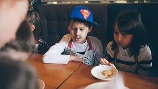 "Кулинарный обзор. Кафе-бар ""Свитер"". Детский мастер-класс. Готовят дети."