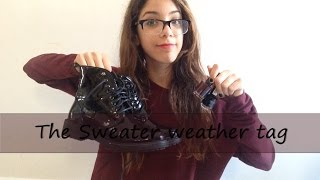 ❅The Sweater weather tag❅