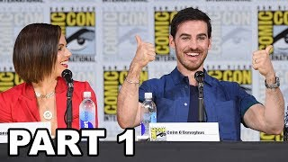 Once Upon a Time Panel Comic Con 2017 Part 1