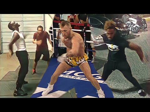 Pro Boxers team up trolling Conor McGregor and his training