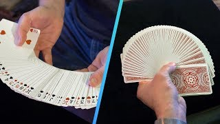 How to Perfectly Fan and Spread Cards   Scam Nation