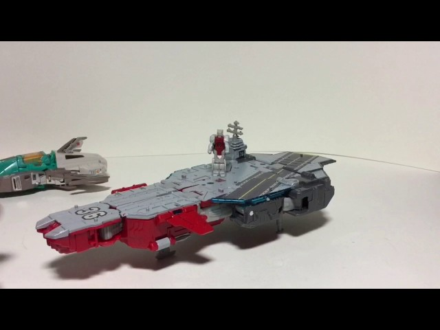 Transformers Titans Return Voyager Broadside and Blunderbuss Review