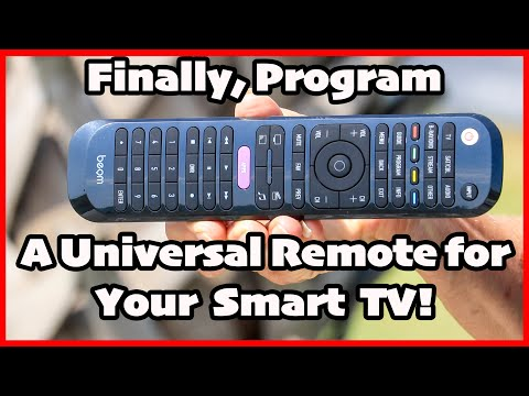 How to Program a Universal Remote to Your Smart TV!