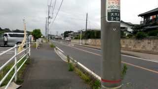 2013/07 千葉県船橋市大穴北3丁目 放射線量 アスファルト上の1m