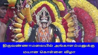 திருவண்ணாமலையில் அங்காளம்மனுக்கு மயான கொள்ளை விழா | Mayana Kollai | Britain Tamil Bhakthi