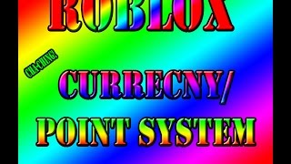 Roblox | How to make Currency/Point system