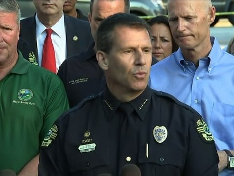 Orlando chief praises SWAT officers' response to massacre