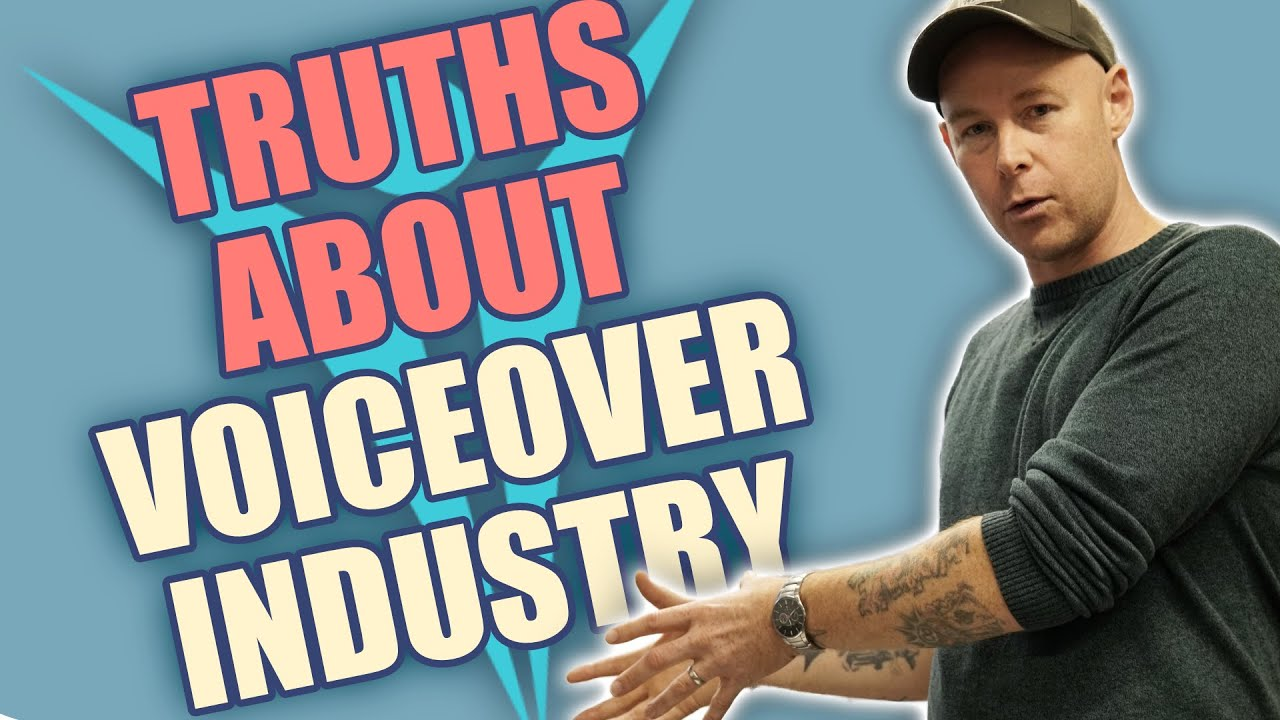 Truths about being a voiceover artist
