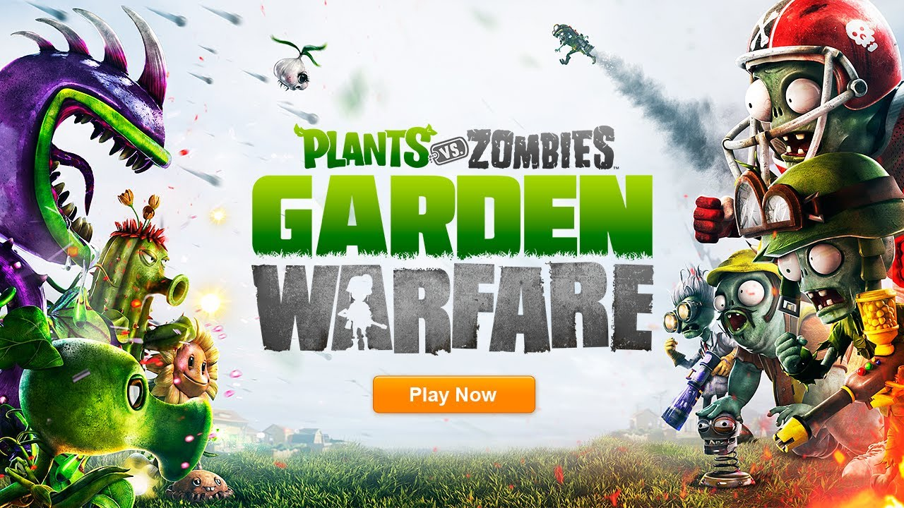 Plants Vs Zombies Garden Warfare Official E3 Reveal Trailer Youtube