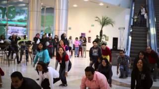 Propuesta de matrimonio sorpresa! Flashmob en Plaza Boulevares, Querétaro