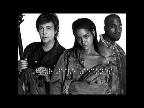 FourFiveSeconds - Rihanna And Kanye West And Paul McCartney (DJ Mustard Remix)