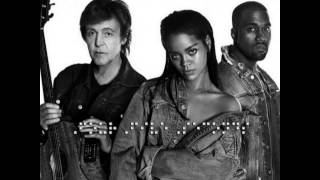 FourFiveSeconds - Rihanna And Kanye West And Paul McCartney (DJ Mustard Remix)