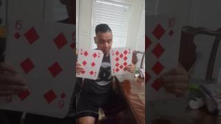 How to shuffle super jumbo playing cards!!!