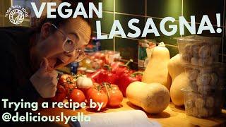 YUMMY Vegan Lasagna recipe  Yoga with Roos