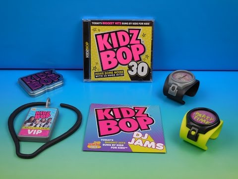 2015 KIDZ BOP SET OF 5 SONIC DRIVE-IN WACKY PACK KIDS TOYS VIDEO REVIEW