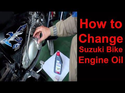 How to Change Suzuki Bike Engine Oil   ebike.pk