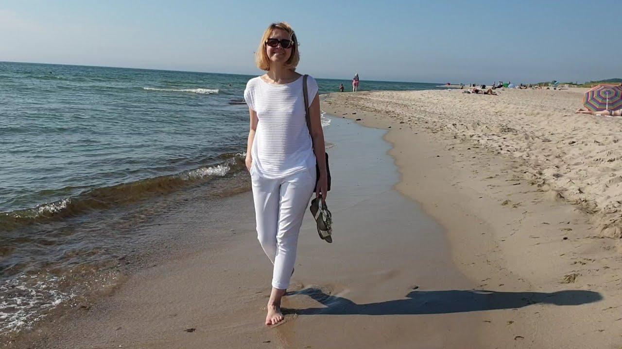 Калининград лето 2020, променад в Янтарном