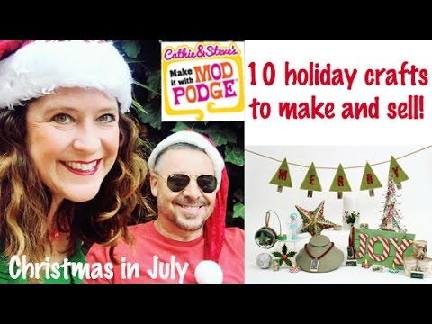 10 Holiday Bazaar Crafts To Make Sell
