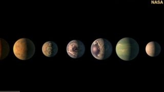 NASA discovers group of planets that could support life