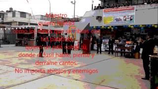 """Gambar cover Canto al Maestro. Horacio Zeballos-IE. 2091 """"MAAC"""""""