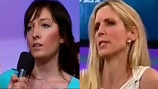 Student calls Ann Coulter Stupid, Get OWNED to TEARS