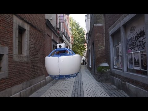 Fleye - Your Personal Flying Robot - Now on Kickstarter! (Full video)