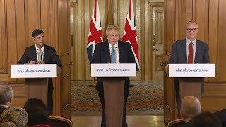 Live: Boris Johnson and Rishi Sunak provide coronavirus update | ITV News