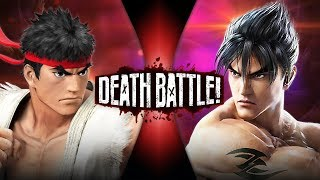 Ryu VS Jin (Street Fighter VS Tekken) | DEATH BATTLE!