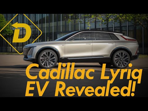 The 2023 Cadillac Lyriq EV Joins The 300 Mile Club!  (Plus A 33-Inch Touchscreen)