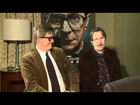 Gary Oldman & Tomas Alfredson joking about Gary's Oscar clip in 'Tinker Tailor Soldier Spy'