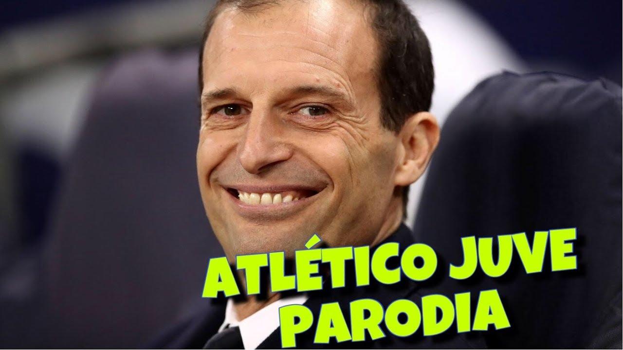 ATLETICO JUVE - Parodia ALLEGRI