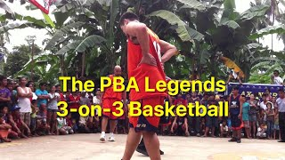 The PBA Legends 3-on-3 Basketball