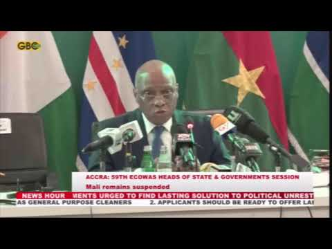 Mali remains suspended from ECOWAS