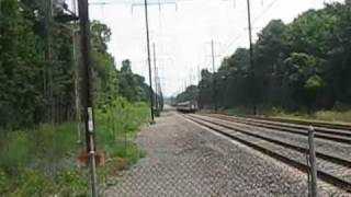 Railfanning in Bowie, MD (LOADS OF HORN MUST SEE)