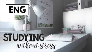 [ENG] How to stop stressing about school?