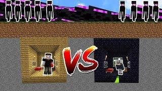 ENDERMAN BLOKLARINA KARŞI %99.9 GÜVENLİ SIĞINAK! - Minecraft