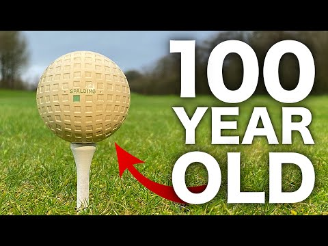 Playing Golf With 100 YEAR OLD Ball