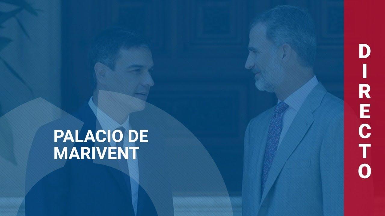 🔴  DIRECTO | Rueda de prensa de Pedro Sánchez tras reunirse con el rey en Marivent